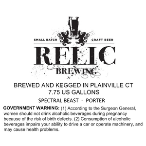 Relic Brewing Spectral Beast