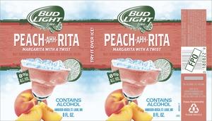 Bud Light Lime Peach-ahh-rita