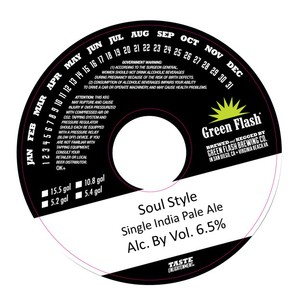 Green Flash Brewing Company Soul Style