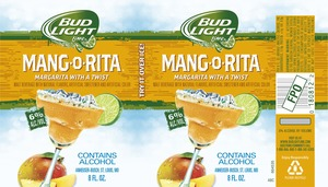 Bud Light Lime Mang-go-rita