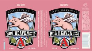 Avery Brewing Co. Hog Heaven Imperial Red IPA