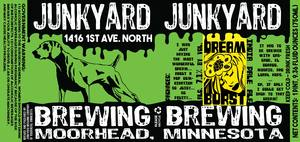 Junkyard Brewing Company Dream Burst