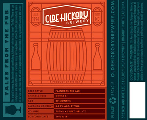 Olde Hickory Brewery Flanders Red Ale