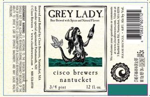 Cisco Brewers Grey Lady