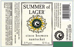 Cisco Brewers Summer Of Lager