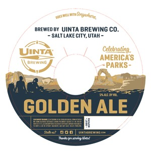 Uinta Brewing Company Golden Ale