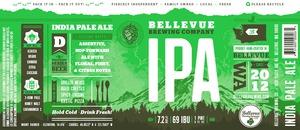 Bellevue Brewing Company IPA
