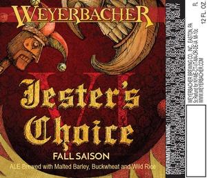 Weyerbacher Jester's Choice Vi