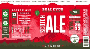 Bellevue Brewing Company Scotch Ale Can