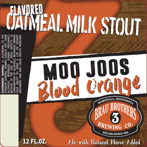 Brau Brothers Brewing Co Moojoos Blood Orange