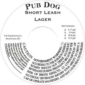 Pub Dog Short Leash