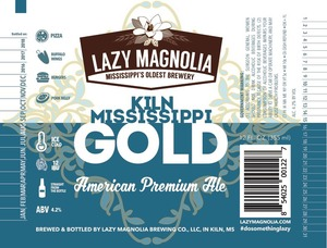 Lazy Magnolia Brewing Company Kiln Mississippi Gold