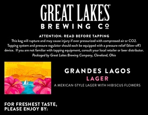 The Great Lakes Brewing Co. Grandes Lagos