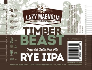 Lazy Magnolia Brewing Company Timber Beast