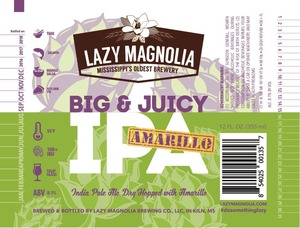 Lazy Magnolia Brewing Company Big And Juicy