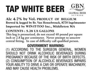 Tap White