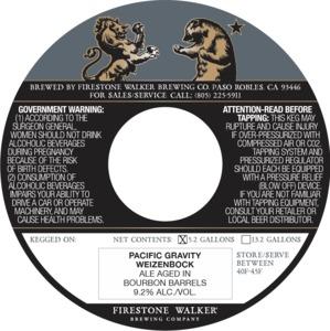 Firestone Walker Brewing Company Pacific Gravity Weizenbock