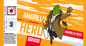 Revolution Brewing Amarillo Hero