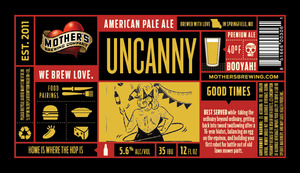 Mother's Brewing Company Uncanny American Pale Ale