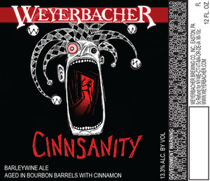 Weyerbacher Cinnsantiy
