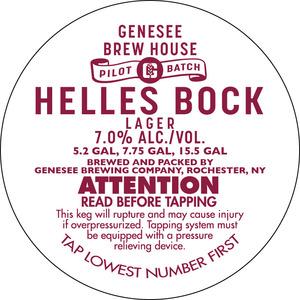 Genesee Brew House Helles Bock Lager
