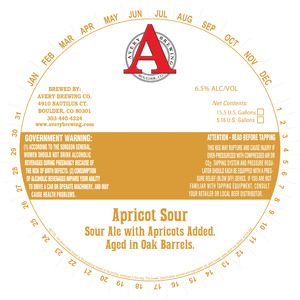 Avery Brewing Co. Apricot Sour