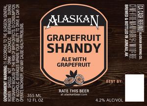 Alaskan Grapefruit Shandy