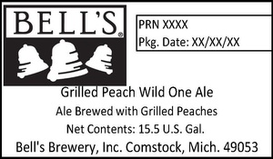 Bell's Grilled Peach Wild One Ale