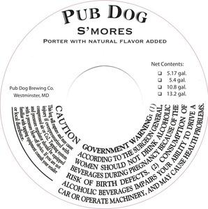 Pub Dog S'mores