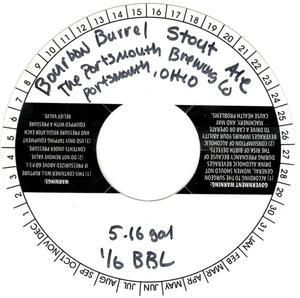 Bourbon Barrel Stout Ale