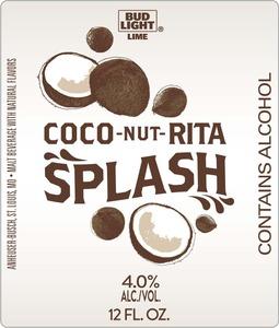 Bud Light Lime Coco-nut-rita Splash