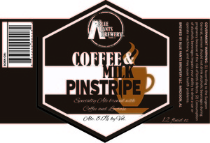 Blue Pants Brewery Coffee & Milk Pinstripe