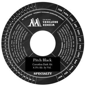 Widmer Brothers Brewing Co. Pitch Black