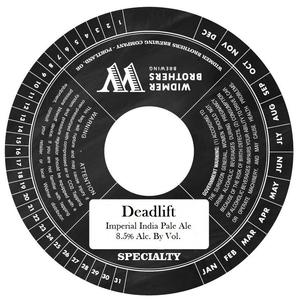 Widmer Brothers Brewing Co. Deadlift