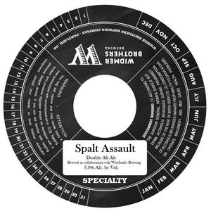 Widmer Brothers Brewing Co. Spalt Assault
