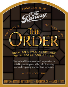 The Bruery The Order