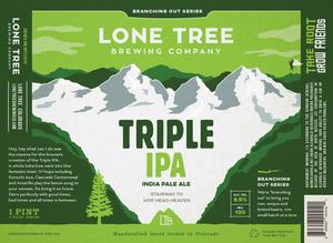 Lone Tree Brewing Company Triple IPA