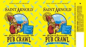 Saint Arnold Brewing Company Pub Crawl Pale Ale