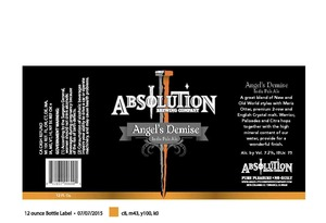 Absolution Brewing Company Angel's Demise India Pale Ale