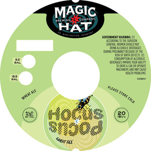 Magic Hat Hocus Pocus Wheat Ale December 2016