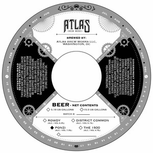 Atlas Brew Works Ponzi