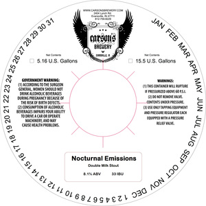 Carson's Brewery Nocturnal Emissions