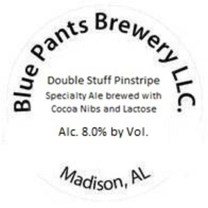 Blue Pants Brewery Double Stuff Pinstripe