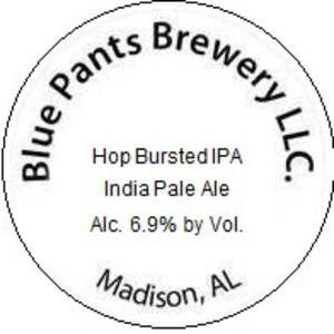 Blue Pants Brewery Hop Bursted IPA
