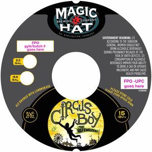 Magic Hat Circus Boy The Hefeweizen