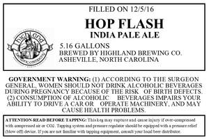 Highland Brewing Co. Hop Flash