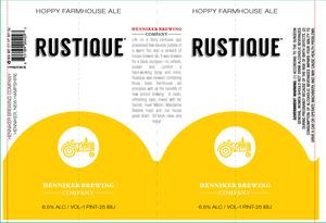 Henniker Brewing Company Rustique