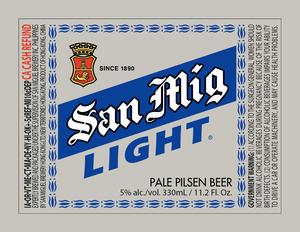 San Miguel Light December 2016