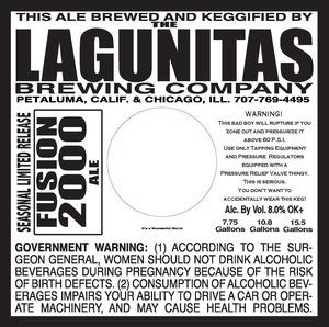 The Lagunitas Brewing Company Fusion 2000