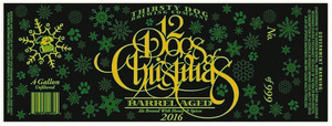 Thirsty Dog Brewing Company Barrel Aged 12 Dogs Of Christmas Ale